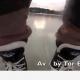 Mees teeb jäätunud järve peal trikke (video)