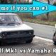 Vahepeal Saksamaal.. 1000HP VW Golf vs. 182HP Yamaha R1