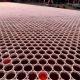 Maailma suurim mosaiik kasutades topse ja vihmavett