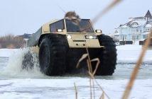 """Sõida kuhu tahad selle ülivinge vene päritolu """"MINI MONSTER TRUCK"""" amfiibsõidukiga"""