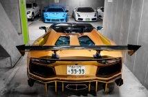 Kõige edevamad Lamborghinid leiad ilmselt sellest Tokyo garaažist