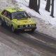 Rumalad pealtvaatajad teevad rallisõitjatele tee peale lumest tõkke