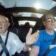 97-aastane vanaisa, kes sõitis omal ajal hobuse ja kaarikuga, sõidab esimest korda Teslaga