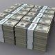 See video näitab sulle USA riigivõla suurust, kasutades $100 rahatähti