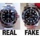 Võltsitud kellad muutuvad aina paremaks, kas saad aru kumb neist kahest Rolexist on võltsing?