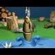"""Vahva stop-motion animatsioon """"Kalalkäik"""" rootslasest skulptor/animaatorilt Alexander Ungerilt"""