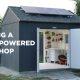 Päikeseenergia jõul töötav töökoda