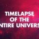 Timelapse universumi tekkimisest tänaseni