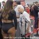 Vanaema paneb kulturistidele puid alla