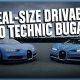 LEGO valmistas 1:1 suuruses Bugatti Chironi, mis sõidab 2304 LEGO mootori jõul