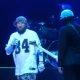 FEIL! ICP bändiliige üritab õhulöögiga Limp Bizkiti laulja Fred Dursti lavalt tõugata
