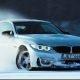 Selline jääuisutamine mulle meeldib! BMW M4 jääl driftimas