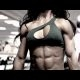 Fitness modell Andreia Brazier (video)