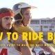 Õpetusvideo: kuidas kaks meest peaksid mootorrattaga sõitma