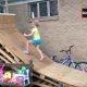Aasta isa ehitab tütrele hoovi Ninjasõdalase raja