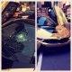 Kohalik kangelane lööb New York'i liikluse sulgenud rikaste juutuuberite BMW I8 tuuleklaasi sisse