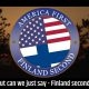America first, Finland second!
