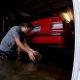 Autohullust kutt päästab oma BMW Harvey üleujutuste eest