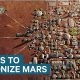 Kas Elon Musk on tulnukas, kes tahab Marsile tagasi pääseda – plaanib ehitada Marsile linna aastaks 2024
