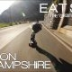 Hulljulge Aaron Hampshire sõidab rulaga mägisel teel ligi 100km/h