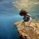 Hoia hinge kinni! Sofía Gómez Uribe jookseb mööda ookeani põhja